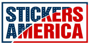stickers america logo bumper sticker